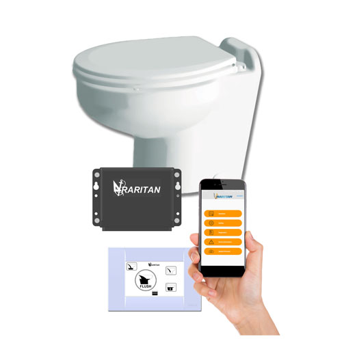 Raritan Electric Marine Toilet Smart Toilet Control Bluetooth