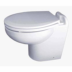 Example of a Manual Marine Toilet
